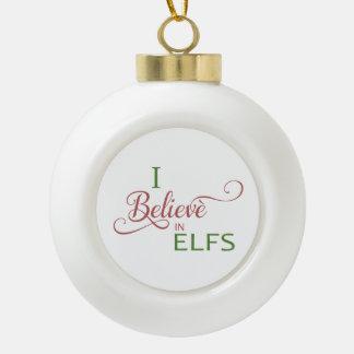 Boule En Céramique Je crois aux elfs