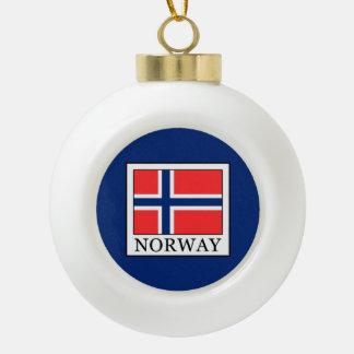 Boule En Céramique La Norvège