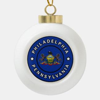 Boule En Céramique Philadelphie Pennsylvanie