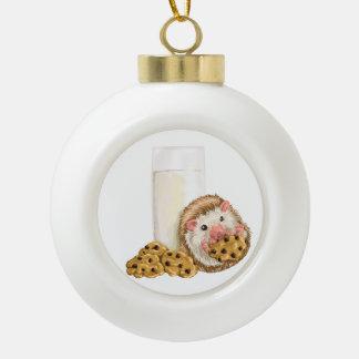 Boule En Céramique Porc de biscuit