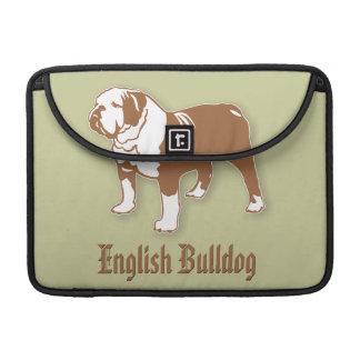 Bouledogue anglais poches pour macbook