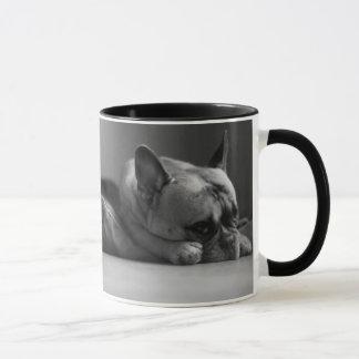 Bouledogue français désolé mug