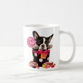 Bouledogue français et sucrerie mug