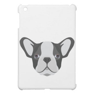 Bouledogue français mignon d'illustration étui iPad mini