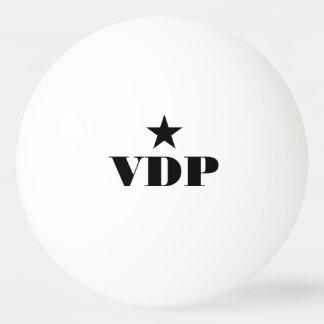 Boules de ping-pong personnalisées de monogramme balle de ping pong