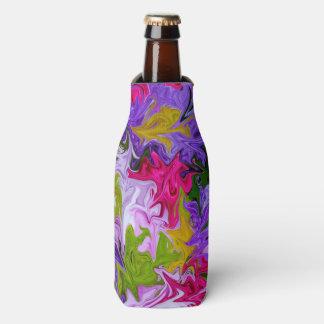 Bouquet de conception florale d'art abstrait de rafraichisseur de bouteilles