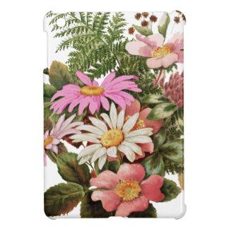 bouquet de fleur coque pour iPad mini