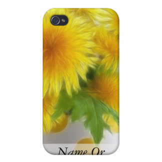 Bouquet de pissenlit de ressort iPhone 4 case