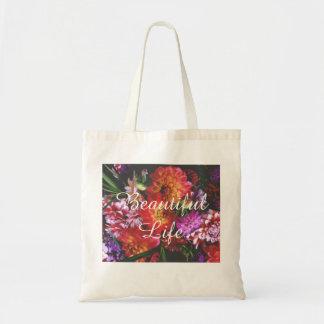 Bouquets de beau sac en toile budget
