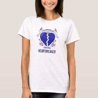 Bourreau des coeurs : T-shirt blanc de dames :