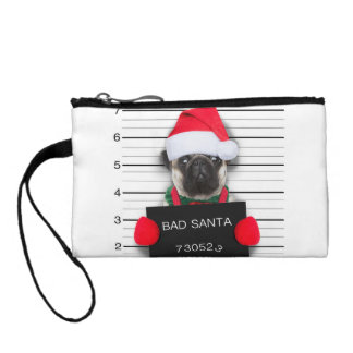 Bourse Carlin de Noël - chien de photo - carlin de père