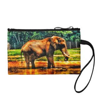 Bourse Éléphant majestueux