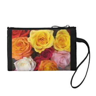 Bourse rose de bracelet de bouquet