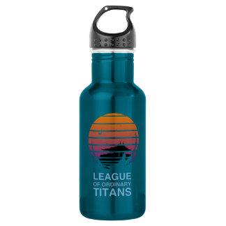 Bouteille d'eau alternative de logo
