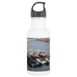 Bouteille D'eau Bateaux de pêche à La Valette