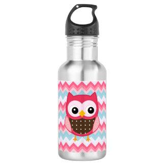 bouteille d'eau de hibou