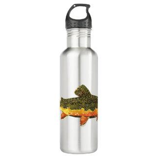 Bouteille D'eau En Acier Inoxydable Brookie de M. Trout Whiskers', fontinalis de
