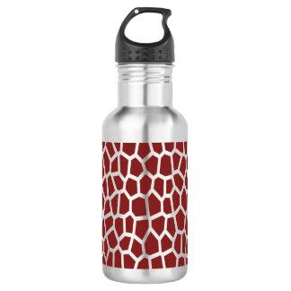 Bouteille D'eau En Acier Inoxydable Copie de girafe de Brown de couleur de sélection