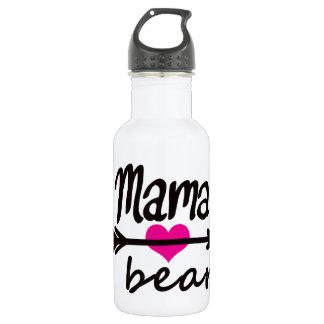 Bouteille D'eau En Acier Inoxydable Maman Bear Funny Quote de maman par de mini frères