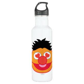 Bouteille D'eau En Acier Inoxydable Visage de sourire d'Ernie avec les yeux en forme