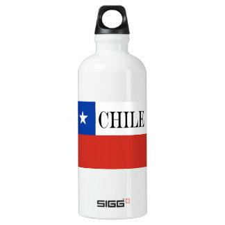 Bouteille D'eau En Aluminium Drapeau du Chili