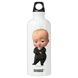 Bouteille D'eau En Aluminium Le bébé de patron | je suis le patron !