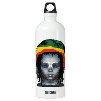 Bouteille D'eau En Aluminium Robotique Rastafarian