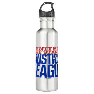 Bouteille D'eau La ligue de justice | nous a unis se tiennent