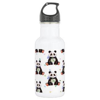 Bouteille d'eau mignonne d'ours panda (18oz),