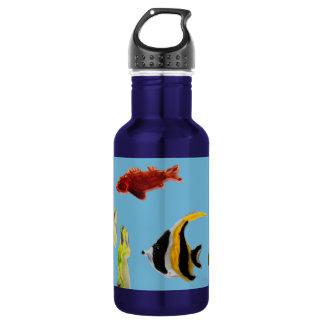 Bouteille D'eau Natation d'art de poissons en mer