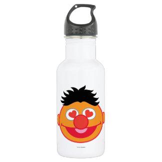Bouteille D'eau Visage de sourire d'Ernie avec les yeux en forme