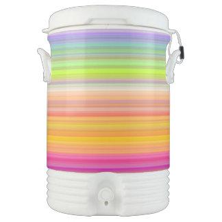 Bouteille Isotherme Personnalisez - l'arrière - plan multicolore de