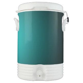 Bouteille Isotherme Personnalisez - l'arrière - plan turquoise de