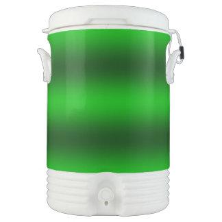 Bouteille Isotherme Personnalisez - l'arrière - plan vert de gradient