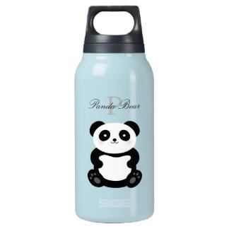 Bouteilles Isotherme Monogramme Girly mignon d'ours panda de bébé