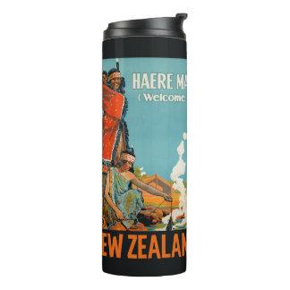 Bouteilles Isothermes Culbuteur vintage de voyage de la Nouvelle Zélande