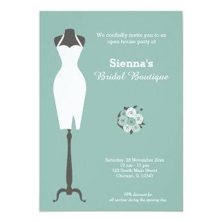 Boutique nuptiale - choisissez votre couleur carton d'invitation  12,7 cm x 17,78 cm