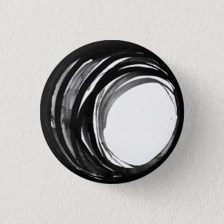 Bouton abstrait de perle de prière badge rond 2,50 cm