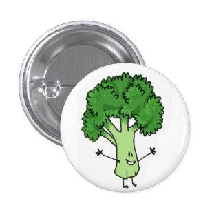 Bouton de brocoli badge rond 2,50 cm