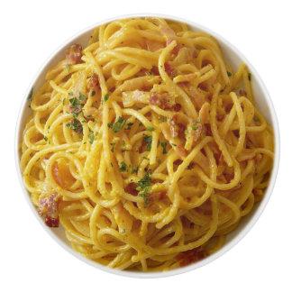 Bouton de buffet de spaghetti de nourriture