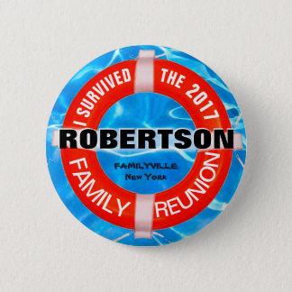 Bouton de coutume de la Réunion de famille Badge Rond 5 Cm