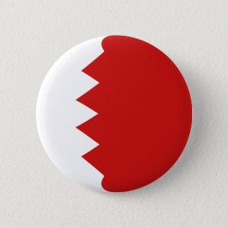 Bouton de drapeau du Bahrain Fisheye Badge Rond 5 Cm