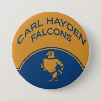 Bouton de Karl Hayden Badge Rond 7,6 Cm