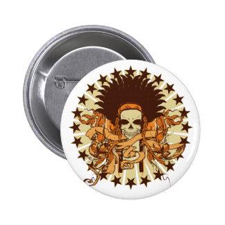 Badges tête de mort