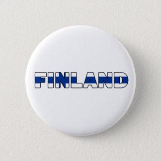 Bouton de la Finlande Badge Rond 5 Cm
