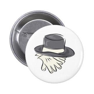 Bouton de mariage badge rond 5 cm