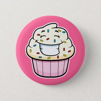 Bouton de petit gâteau badge rond 5 cm