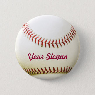 Bouton de Pin d'insigne de base-ball Badge Rond 5 Cm
