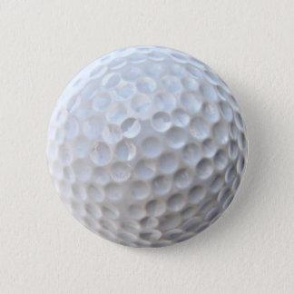 Bouton de Pin d'insigne de boule de golf Badge Rond 5 Cm
