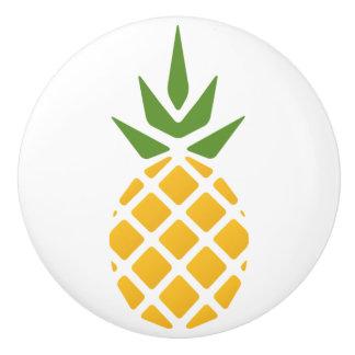Bouton De Porte En Céramique Ananas